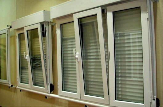Alurec ventana persianas y mosquiteras de aluminio for Modelos de puertas y ventanas de aluminio